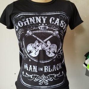 Black Johnny Cash shirt!
